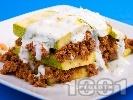 Рецепта Турска мусака с тиквички